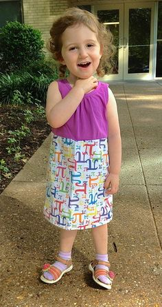 Princess Awesome: Pi Dress for STEM loving girls