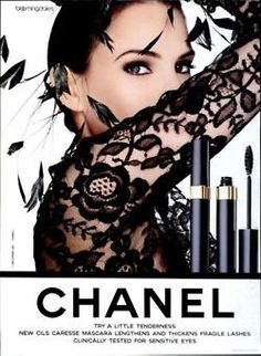 Chanel ad Model : Patricia Van Ryckeghem