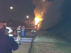 Jefferson County Emergency Management Agency - 18-wheeler fire, chemical spill shuts down I-59/20, prompts evacuation