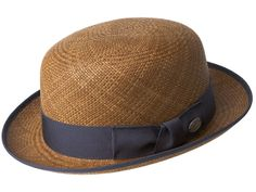 Bailey Hats Chaplin Genuine Panama - Sienna Brown