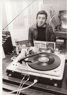 """people-vinyl:  Serge Gainsbourg Merci jpsx !   """