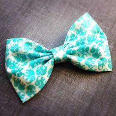 Elephant Bow Tie