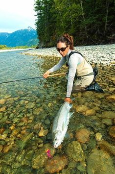 Life goal, learn how to fly fish #getoutside