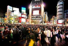 Tokyo.... how I miss you. The neon night lights and swarm of people.