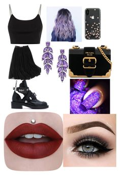 """""""Untitled #5"""" by stefania-serban on Polyvore featuring WithChic, Alexander Wang, Balenciaga, Kate Spade, Prada and ASAP"""