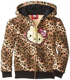 Hello Kitty Little Girls' Leopard Print Zipup Hoodie, Mellow Buff, 4 Hello Kitty http://www.amazon.com/dp/B00JTUL1J6/ref=cm_sw_r_pi_dp_X1Ijub1869EHC