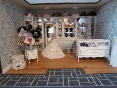 EvaJune Handmade: I love this miniature Bridal Shop.