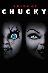Bride of Chucky:  Chucky's doll body is rescued by his fiance and he comes back to life. For their homicidal honeymoon, the demonic newlyweds hit the road, leaving a trail of murder and mayhem behind them!  Chucky, the doll possessed by a serial killer, discovers the perfect mate to kill and revive into the body of another doll.  http://www.reallygreatstuffonline.com/bride-of-chucky/