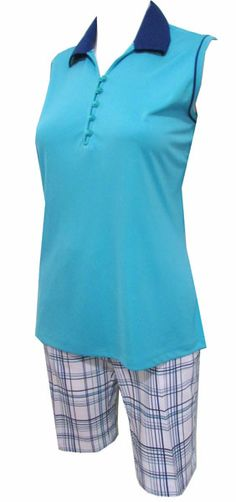 Super cool Seaside Greg Norman Golf Outfit with moisture-wicking fabric! #golf #fashion #ootd #lorisgolfshoppe