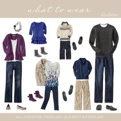 Deciding what to wear in family photos is almost as challenging as finding the photographer. These tips will help you pick the perfect family photo outfits. Family Picture Colors, Family Picture Outfits, Fall Family Photos, Family Pictures, Fall Photos, Thanksgiving Photos, Clothing Photography, Family Photography, Photography Ideas