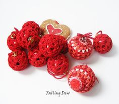 A personal favourite from my Etsy shop https://www.etsy.com/uk/listing/206235381/crochet-ornaments-christmas-decoration
