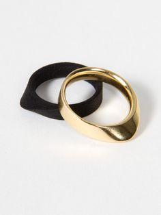 Black Nylon Leva Ring by Silva/Bradshaw