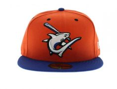 1d68d23b2e5 NEW ERA x MiLB Clearwater Threshers 59Fifty Fitted Baseball Cap
