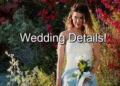 """""""The Bold and The Beautiful"""" (B&B) spoilers reveal on today's episode we will see that the beach wedding of Wyatt Spencer (Darin Brooks) and Steffy Forrester. Darin Brooks, Malibu Beaches, Today Episode, Bold And The Beautiful, Be Bold, Soaps, Wedding Details, Opera, Laundry"""