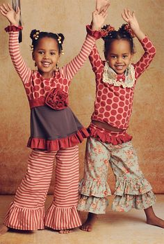 Love these two cuties outfits!!