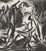 Jackson Pollock. Ritual Scene. 1937