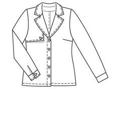 shirt 104 (plate) - 02/2014 - Feeling safari Un look pour amazones des villes! burdafashion.com
