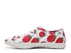 Converse Jack Purcell Strawberry Printed Helen Sneaker Womens Sneakers Womens Shoes - DSW Converse Jack Purcell, Converse Sneakers, Take That, Strawberry Shortcake, Strawberries, Boots, Madness, Prints, Women