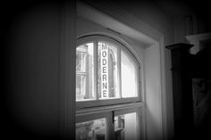 A view of the old store from the new store ~ The Moderne Bridal, Cork