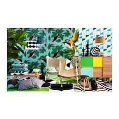 IKEA - TILLFÄLLE, Skrinka, Posuvné dvere vám ponúkajú možnosť vystaviť alebo ukryť vaše veci a nezaberajú miesto, keď sú otvorené.Vysoké nohy uľahčujú ich čistenie.Eukalyptové drevo je prírodný materiál s rôznymi variáciami vlákien a farieb, ktoré robia kus dreveného nábytku unikátnym.