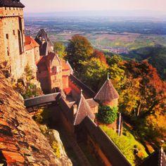 Château du Haut-Koenigsbourg - Alsace, France
