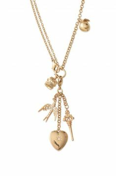 Wonderland Charm Necklace . . . $158? I can make this for $20!!!  Geesh!