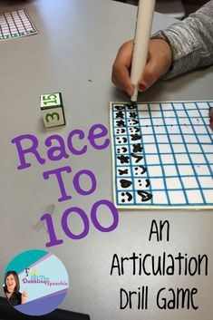 activity game to reinforce articulation practice! FREE printable.