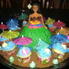 Hawaiian Bridal Shower Luau