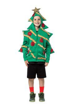Christmas Tree Hoodie (Little Kids & Big Kids)