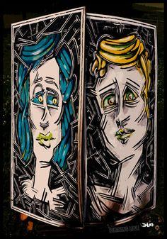 'Burning Love' von David Joisten bei artflakes.com als Poster oder Kunstdruck $6.48