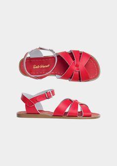 Red Salt-Water Sandals