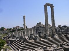 As a child I played on these ruins of Izmir, Turkey, and my little sister was born here.