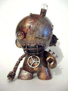 Steampunk Crafts | crafts # steampunk # munny # sculpture