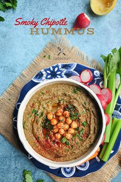 Smoky Chipotle Hummus