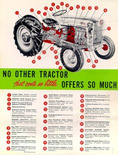 1952 8n with elenco 4w drive conversion ford tractors