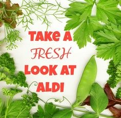 """Did you know that ALDI has amazing lines of products that are not only affordable, but help you attain your healthy living goals? Take a """"Fresh Look"""" at ALDI products and see just how they can help you fuel your body up with healthy, delicious foods, while keeping your budget in check."""
