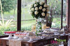 Mesa de doces - Decoração Luzia Melo Produções