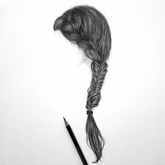 What do you think of my drawing of a side braid? I used Faber Castell graphite pencils. Timelapse video and a tutorial coming soon...  (link to my youtube channel is in my bio)