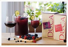 Summer Berry Sangria | MyGourmetConnection Wine and Spirits