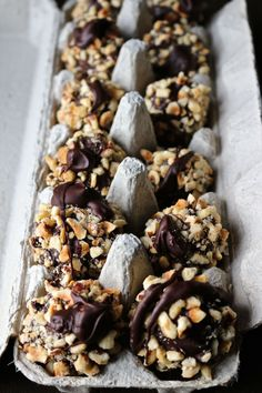 Homemade Ferrero Rochers