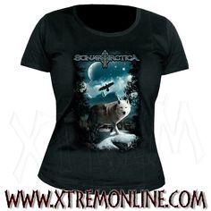 Sonata Arctica - The Days of Wolves. Camiseta de Chica.