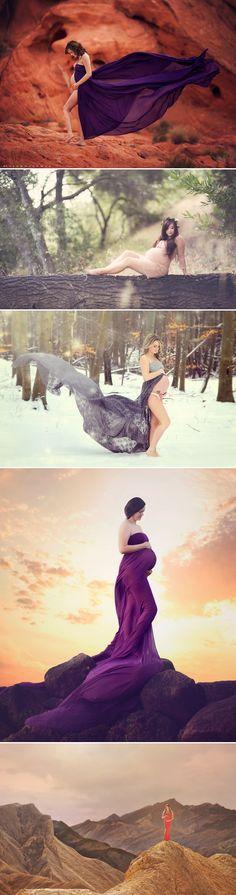 23 Naturally Beautiful Outdoor Maternity Photo Ideas!