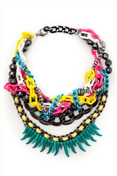 so want this to wear with black dresses to work - spice things up a bit! x