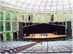 Ensaio na Ópera de Arame, em Curitiba