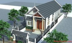 Xem hướng nhà chuẩn phong thủy cho người tuổi Đinh Hợi Style At Home, House Plans Mansion, House Elevation, Small House Design, Home Fashion, Home Builders, Curb Appeal, Home Interior Design, New Homes