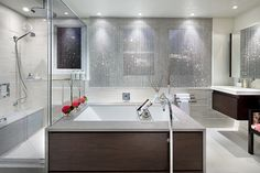 Viatera   Nimbus   timeless modern bathroom ideas #Quartz #BathroomRenovation