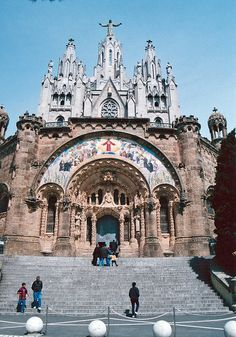 TEMPLE EXPIATORI DEL SAGRAT COR (Temple of the Atonement of the Sacred Heart) in Barcelona, Spain