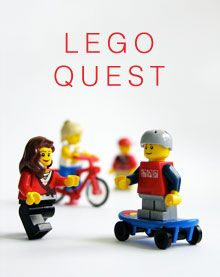 LEGO Quest Kids. The 1st of every month a new Quest is announced, then you build it and submit your creations!