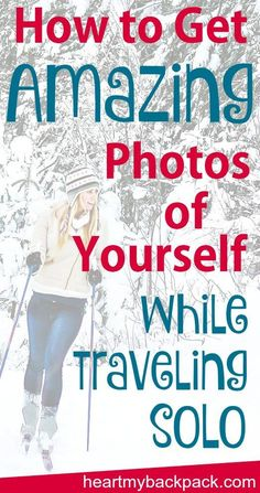 Taking good photos of yourself while traveling alone doesn't have to be impossible. Click through to read all my best tips for solo travel photography!