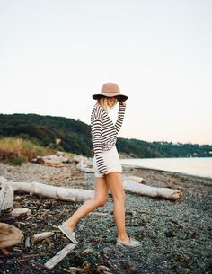 stripes outfit stripes outfit fall stripes outfit black and white stripes outfit summer stripes outfit dress striped shirt outfit striped pants Fashion Mode, Look Fashion, Womens Fashion, Looks Style, Style Me, How To Have Style, Mode Vintage, Look Chic, Mode Inspiration